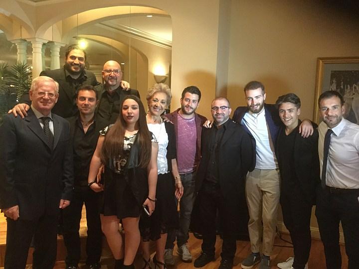 Peppe Arezzo e gli amici ragusani