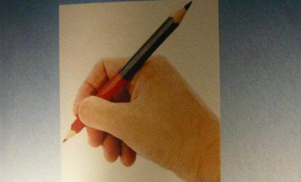 matita rossa e blu