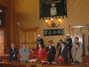 2007 Edwige Fenech al Comune di Ragusa