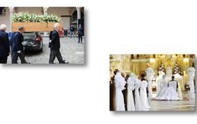 funerale e matrimonio