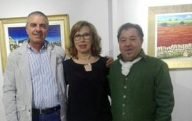 Amedeo Fusco con Concetta Cavalieri e Giuseppe Migliorisi